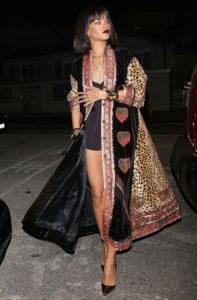 Rihanna en kimono