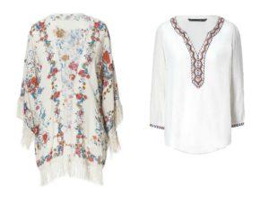Kimono de chez Zara : entre 15 et 20€ seulement