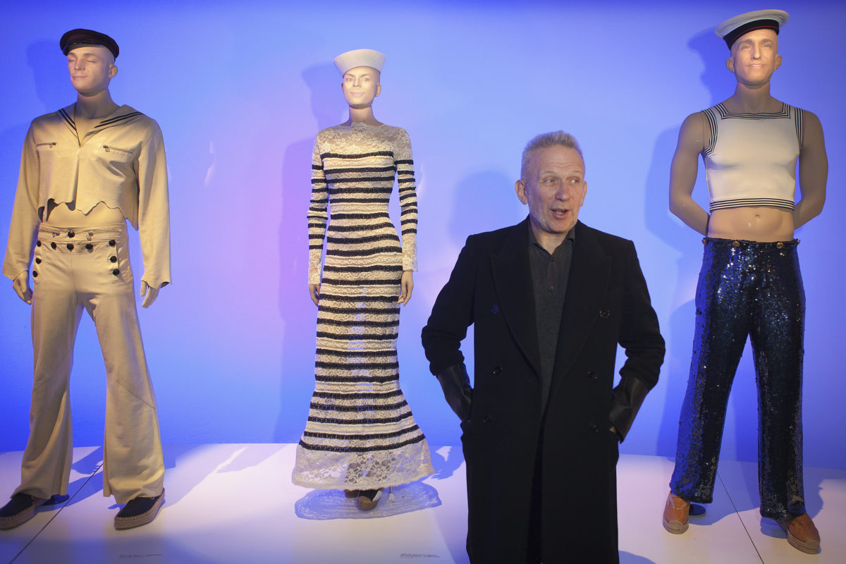 "L'exposition de ""l'enfant terrible"" Jean-Paul Gaultier au Grand Palais"