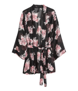Kimono H&M : entre 13 et 18€