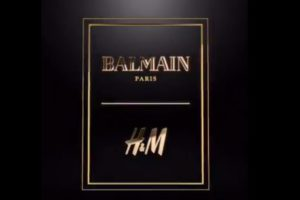 La collection Balmain et H&M bientôt en magasin