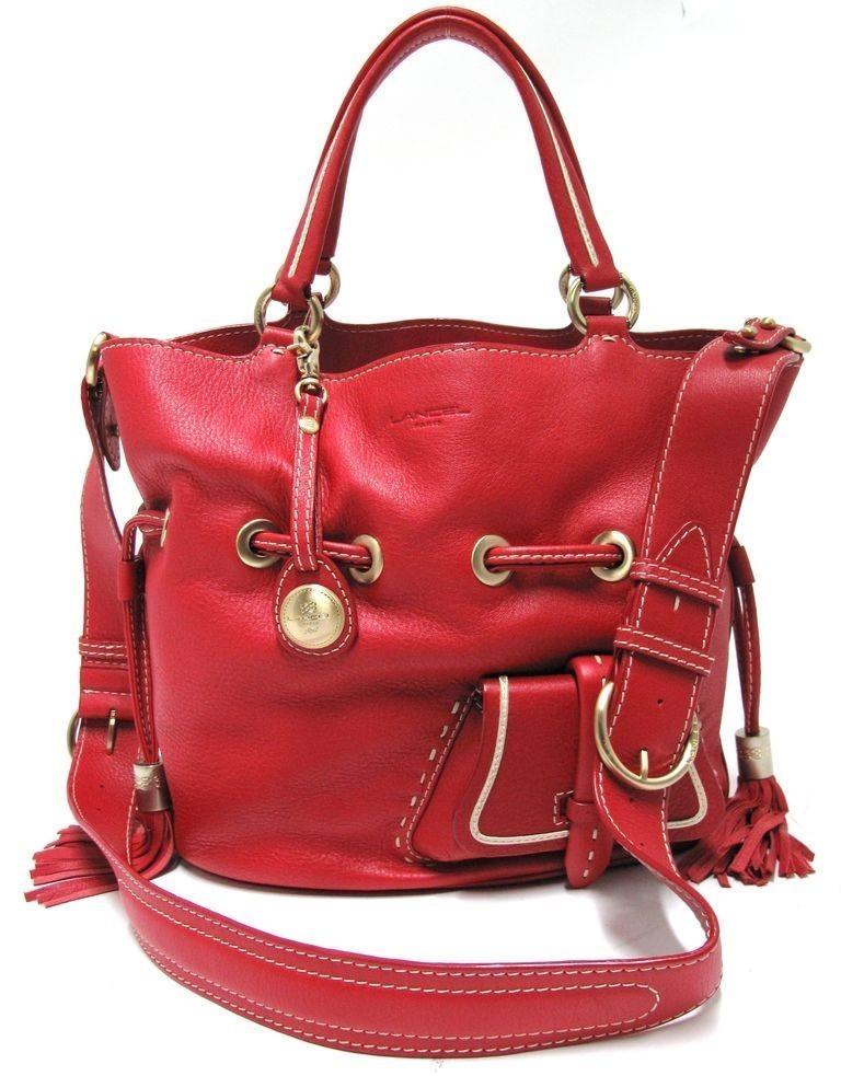 Lancel Premier Flirt Sac Rouge en ligne sacs a main lancel pas cher femmes prix reduits