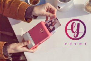 Prynt : un étuie de téléphone qui imprime vos photos instantanément