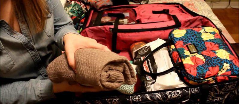 Ma valise et moi